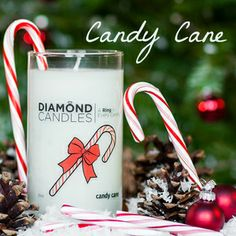 Candy Candy Diamond Candle Giveaway!