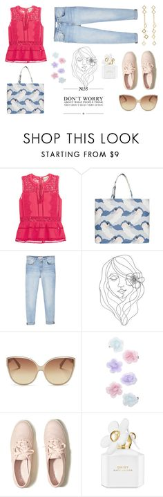 """I am"" by coldasme ❤ liked on Polyvore featuring Sea, New York, Paul & Joe, MANGO, PBteen, Linda Farrow, Monsoon, Hollister Co., Marc Jacobs, Arme De L'Amour and myway"
