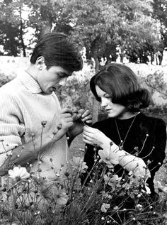 Alain Delon & Romy Schneider - 1959, Tancrou