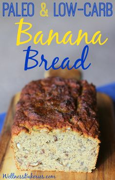 Most banana bread contains as much as 30 grams of sugar per serving! Our moist and delicious version is grain-free and has less than 3 grams of sugar per sweet and satisfying serving. Paleo Banana Bread by Wellness Bakeries