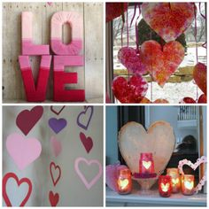 Love Shack: 20 DIY Valentine Decorations| Spoonful #valentinesday #valentinesdaydecorations