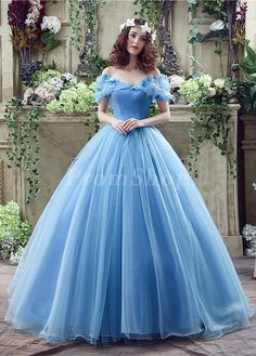 In Stock 2018 Quinceanera Dresses, Quince Dresses, 15 Dresses,Sweet 16 Dresses Blue Ball Gowns, Tulle Ball Gown, Ball Gowns Prom, Ball Gown Dresses, Blue Gown, Satin Tulle, Organza Dress, Elastic Satin, Silk Taffeta