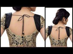 How To Cut And Stitch Designer Choli | Blouse Neckline | Kurti Neckline - YouTube