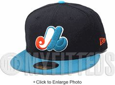 various colors be9a2 59787 MONTREAL EXPOS CUSTOM NEW ERA 59FIFTY FITTED HAT