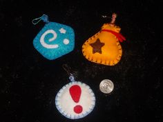 Set of Three Animal Crossing Treasures Ornaments Zipper Pulls Charms Hangers by HorriblyPrecious on Etsy
