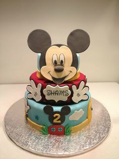 gteau tages mickey
