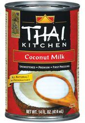 http://www.thaikitchen.com/Products/Coconut-Milk/Coconut-Milk