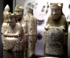 Lewis Chessmen | Probably made in Norway, about AD 1150-1200. Found on the Isle…