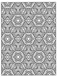 Dover Coloring Pages For Grownups
