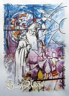 Carte Saint Nicolas, Didier Ferry