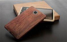 Bamboo iPhone case. TPI ♥ organic accessories!
