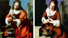 Saint Praxidis by Vermeer, Julianne moore
