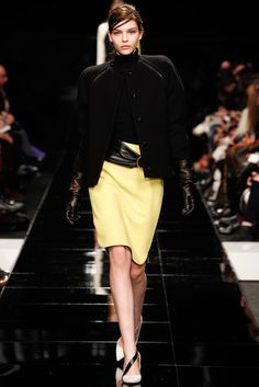 Iceberg FW 2013/ Black Yellow