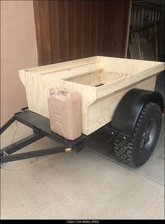Mini Harbor Freight (type) Trailer Ultimate Build-Up Thread - Page 100 Bug Out Trailer, Kayak Trailer, Off Road Camper Trailer, Little Trailer, Small Trailer, Trailer Plans, Trailer Build, Camper Trailers, Trailer Diy