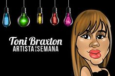 Imagem: Toni Braxton é a Artista da Semana