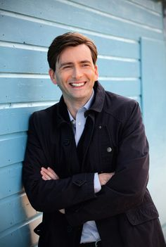 David Tennant. So this was the first thing I saw this morning. It's going to be a great day....