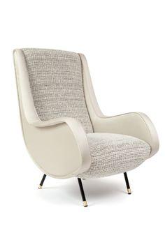 Pair of Mid-Century Italian Armchairs Wing Chair, Sofa Chair, Mid Century Armchair, Single Sofa, Upholstery, Indoor, Living Room, Interior Design, Furniture