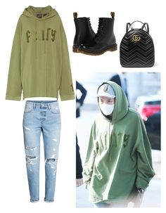 Untitled #7 by nutellasprinkles-s on Polyvore featuring polyvore, Gucci, Puma, Dr. Martens, men's fashion, menswear and clothing