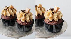 sweetsbyc.blogg.se - Salty caramel and chocolate cupcakes http://sweetsbyc.blogg.se/2015/july/salty-caramel-and-chocolate-cupcakes.html