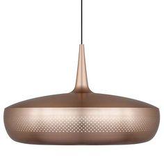 Brushed copper / black cord