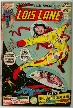 Lois Lane 123 comic covers Superman Book, Superman Comic, Superman Family, Comic Superheroes, Lois Lane, Dc Comics, Dc Comic Books, Comic Book Covers, Comic Art