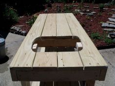 "My ""New"" Diy Potting Bench"