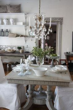 great little french style dining area