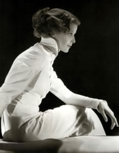 Katharine Hepburn ~ In a career lasting several decades she landed four Oscars - a record even today. She was an unconventional Hollywood actress, fiercely independent and often displaying a standoffish attitude to the media. However, her wide variety of roles and acting skills made her popular on screen and she was ranked the greatest female film star by the American Film Institute.