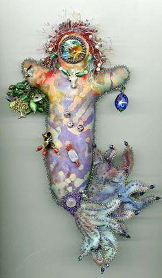 spirit dolls   Beaded Spirit Doll