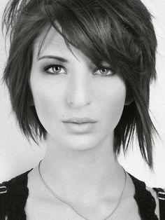 Cute Layered Short Haircut for Girls