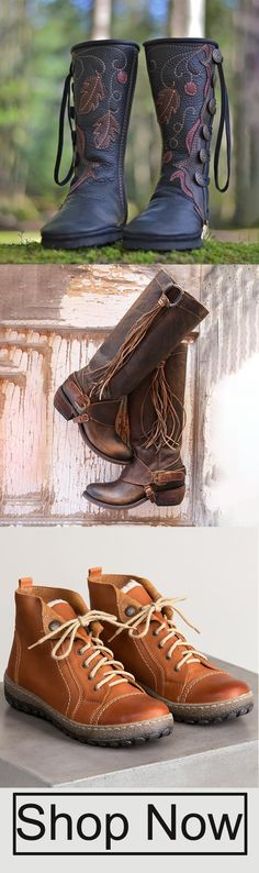 Ideas For Fashion Style Boho Winter Boots Cute Shoes, Me Too Shoes, Buckle Boots, Mid Calf Boots, Shalwar Kameez, Winter Boots, Boho Fashion, Trendy Fashion, Leather Boots
