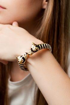 Zealous Zebra Bracelet @jerameelopez a friend for your jaguar:)