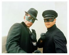 Portrait of Van Williams and Bruce Lee for The Green Hornet, 1966/67