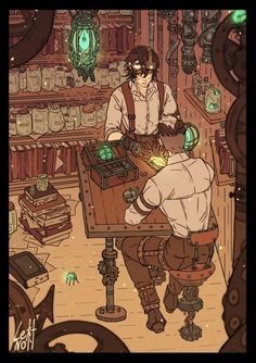 Steampunk Shiro and Keith Form Voltron, Voltron Ships, Voltron Klance, Character Inspiration, Character Art, Character Design, Shiro, Arte Steampunk, Voltron Fanart