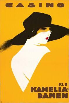 By Sven Brasch (1886-1970), 1922, Kameliadamen. (Danish)