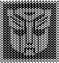 Graph Comparison- Transformers in bead, knit and cross stitch charts