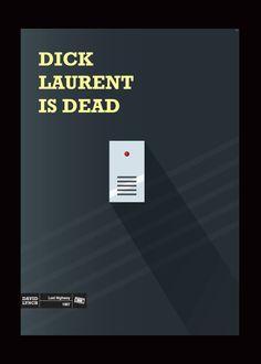 David Lynch's Lost Highway poster. $27.00, via Etsy.