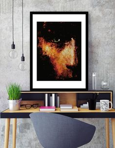 """""""Black Wall"""", Numbered Edition Fine Art Print by Fernando Vieira - From $20.00 - Curioos"""