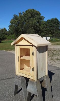 Little Free Library by AnythingWoodStore on Etsy