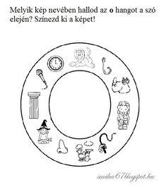 Kisbetűkben képek a hangfelismerés gyakorlásához – Játékos tanulás és kreativitás Symbols, Letters, Teaching, Education, Valentino, Letter, Lettering, Onderwijs, Learning