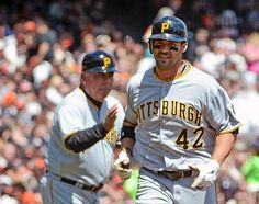 Game 9 (4/15/12)- GI Jones almost knocks one in to the Bay in San Fran. Pirates prevail over the Giants 4-1