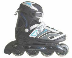 Chicago Blazer Junior Boys Adjustable Inline Skate (Size 5-8) by Chicago. $39.99