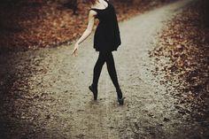dance baby / Image via: Ciorania, via Flickr #fall #autumn