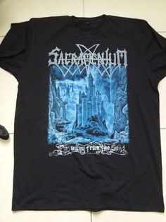 Short Sleeve Graphic Tee Unbranded Solid T-Shirts for Men Band Merch, Black Metal, Graphic Tees, Sun, Logo, Mens Tops, T Shirt, Shopping, Fashion