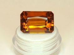 Sale Supreme Madeira Citrine Great Cut Big&Bold 19.74ct from private collection