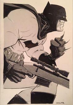 Batman by artist Nick Dragotta Batgirl, Mortal Kombat, Comic Books Art, Comic Art, Pitbull, Thor, Dark Knight Returns, Hq Dc, I Am Batman