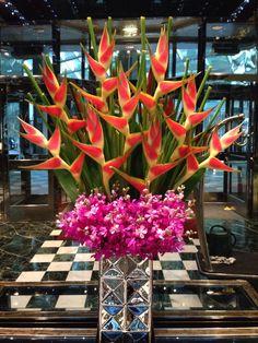 Hotel Lobby Design.  Heliconia