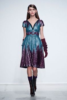 Pin for Later: Autumn in 100 Outfits: The Must-See Looks From the Major Fashion Weeks John Galliano Autumn/Winter 2014