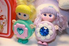 SWEET SECRETS. dolls in lockets. is this why im obsessed with lockets????