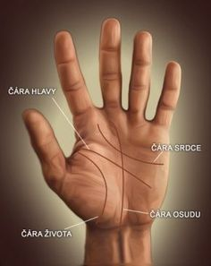 Čtení z ruky - Představení čar, znak Kandy - Věštírna.com Online Tarot, Palmistry, Kandi, Good Advice, Etiquette, Reiki, Good To Know, Helpful Hints, Meditation
